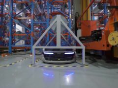Роботы Geek+ m1000 на заводе INLAYLINK_2