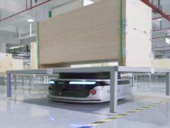 Роботы Geek+ m1000 на заводе INLAYLINK_3