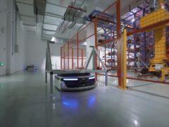 Роботы Geek+ m1000 на заводе INLAYLINK_4