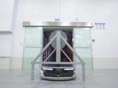 Роботы Geek+ m1000 на заводе INLAYLINK_5