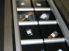 Dual Split Tray Sorter at work 1
