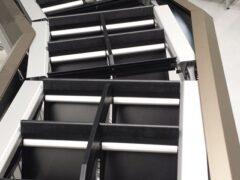 Dual Split Tray Sorter at work 2