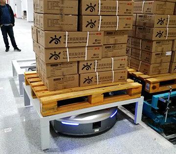 Интеграция мобильного робота с транспортной системой