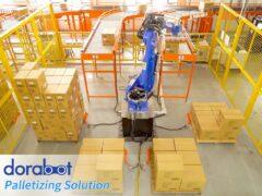 Паллетизация и погрузка манипулятором Dorabot - 05