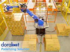 Паллетизация и погрузка манипулятором Dorabot - 08