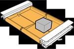 Сортировщик Dual Split Tray